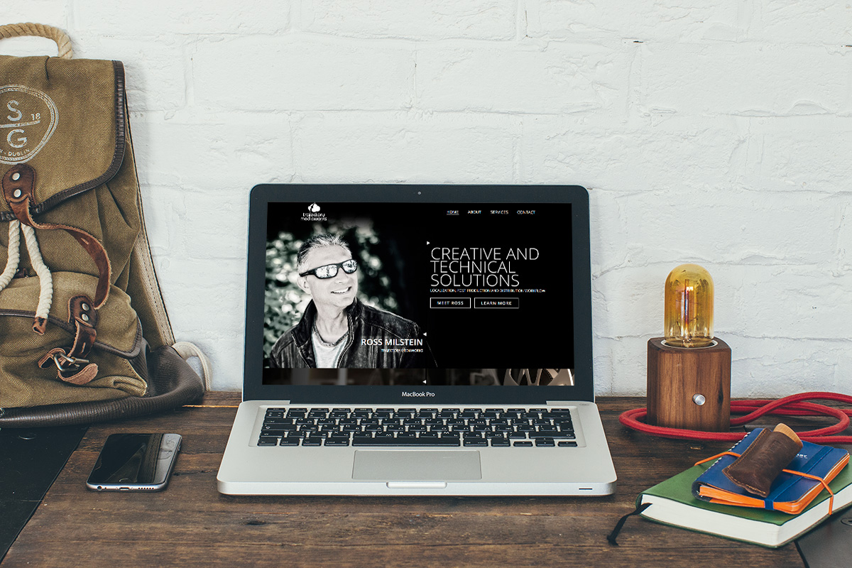 Trajectory Custom Website DesignWeb