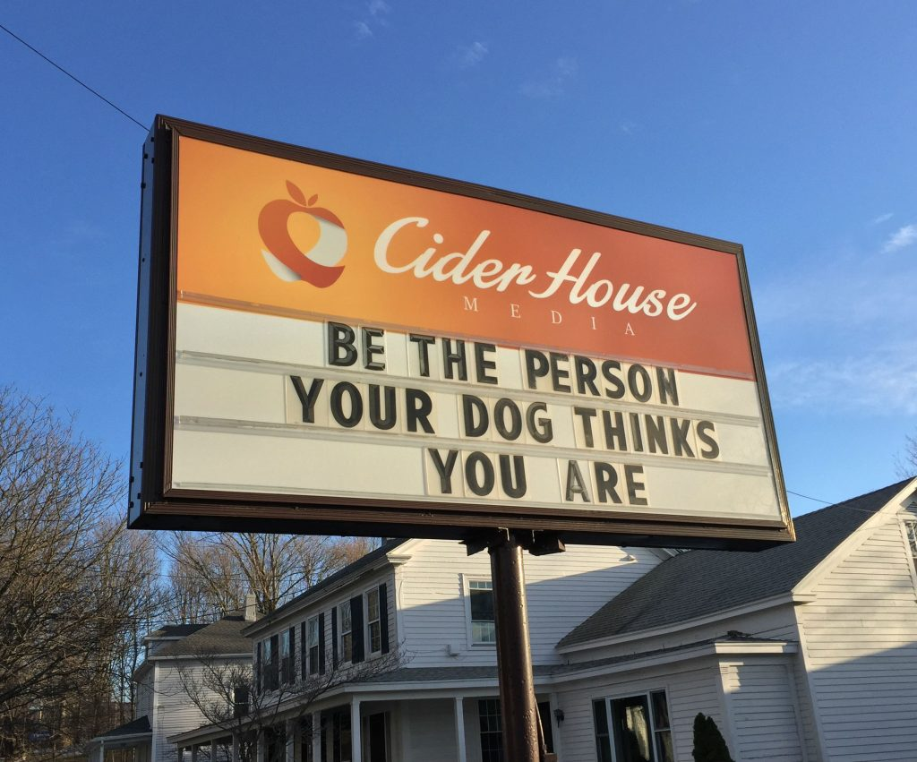 #ciderhousesign